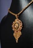 Indiskt guldhalsband Arkivbilder