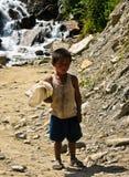 Indiskt hinduiskt barn Fotografering för Bildbyråer