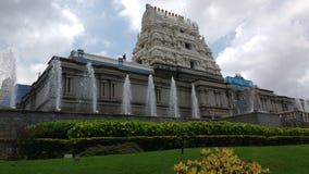 Indiskt hinduiskt tempel Arkivbilder