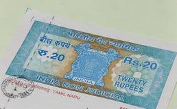 Indiskt intäktpapper Royaltyfri Bild