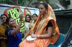 indiskt kvinnabarn Royaltyfri Fotografi