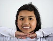 Indiskt kvinnaleende Royaltyfri Foto