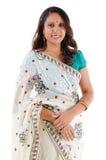 Indiskt le för kvinna. Royaltyfri Fotografi