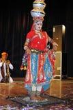 Indiskt nationellt program & kultur royaltyfri foto