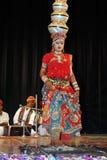 Indiskt nationellt program & kultur royaltyfri bild