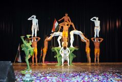Indiskt nationellt program & kultur arkivbild