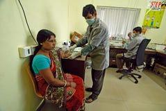 Indiskt sjukhus Royaltyfri Bild