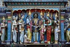 indiskt tempel Arkivfoton