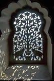 indiskt utsmyckat skärmfönster royaltyfri fotografi