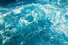 indiskt vatten för textur för havshinesun fotografering för bildbyråer