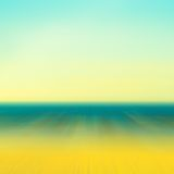 Indistinct ocean background Royalty Free Stock Image