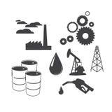 Indistrial symbols Stock Photo