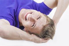 Indivíduo considerável feliz de sorriso Imagens de Stock