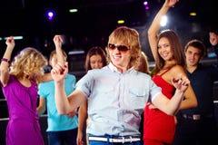 Indivíduo da dança Fotografia de Stock Royalty Free