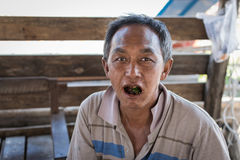 Indivíduo de Myanmar Imagens de Stock Royalty Free