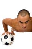 Indivíduo do futebol Foto de Stock