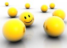 Indivíduo feliz Foto de Stock