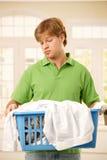Indivíduo furado do housework foto de stock royalty free