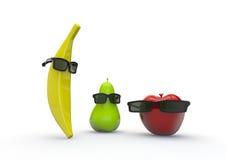 Indivíduos da fruta Fotos de Stock