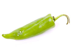 Individual anaheim pepper Royalty Free Stock Photo