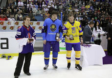 Individual Awards of IIHF World Championship Stock Image