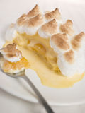 Individual Baked Alaska Royalty Free Stock Photography