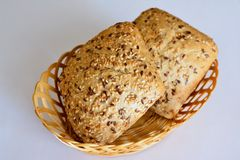 Individual bread Stock Images