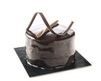 Individual chocolate cake Royalty Free Stock Photo