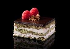 Individual chocolate cake Stock Photo