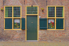 Individual entrance to a house Stock Photos
