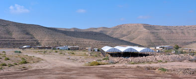 Individual farm in the Negev Desert Israel Stock Images