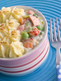 Individual Fish Pie Royalty Free Stock Photography