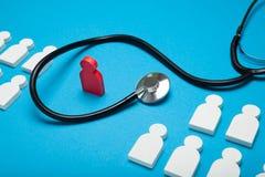 Individual health life, medicine risk concept. Doctor diagnose.  stock photos