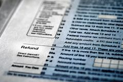 Individual Income Taxes 1040 Form. Individual Income Taxes Forms Tax 1040 royalty free stock photo