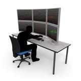 Individual Investor / Asset Management Royalty Free Stock Image