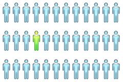 Individual With Leadership Qualities Stock Photos