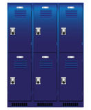 Individual locker Stock Photos