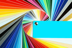 Individual palettes Royalty Free Stock Images