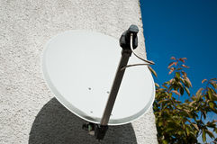 Individual parabolic antenna Royalty Free Stock Image