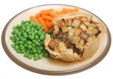 Individual Shepherd's Pie Stock Image