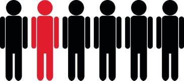Individualidade ilustração stock