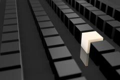 Individualitätspersonen-Graukonzept Stockbilder