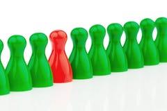 Individualité dans une équipe Soyez différent Photos stock