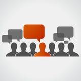 Individuality. communication Stock Images