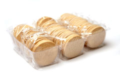 Individually packed biscuits Royalty Free Stock Photo