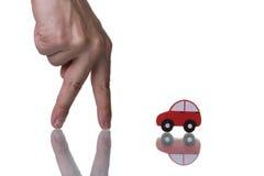 Individuazione dell'automobile Immagini Stock Libere da Diritti