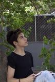 Individuo adolescente Imágenes de archivo libres de regalías