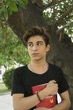 Individuo adolescente fotografía de archivo
