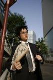 Individuo asiático Foto de archivo libre de regalías