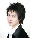 Individuo asiático joven fresco Imagenes de archivo